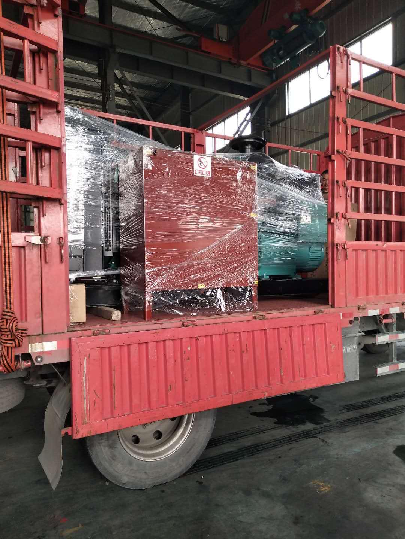 300KW重庆康ming斯柴油fa电机组diao试合格fa往昆山