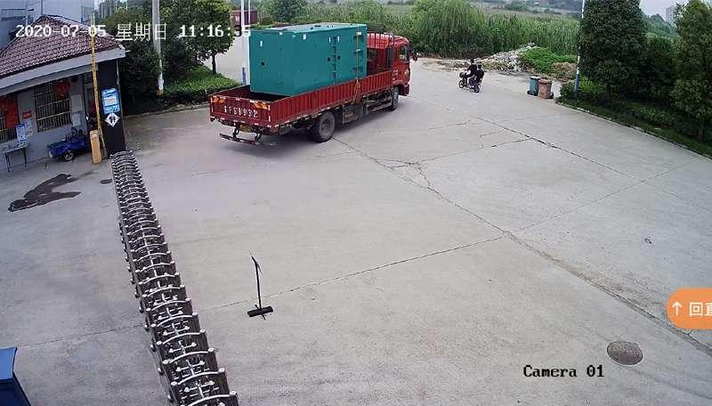 南通学校迎gao考300KWdi噪音柴油fa电机fahuo